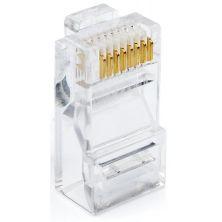 Коннектор Atcom RJ45 cat.6 UTP 8p8c (100pcs/bag) (14373)