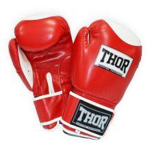 Боксерские перчатки THOR Competition 14oz Red/White (500/01(Leath) RED/WHITE 14 oz.)