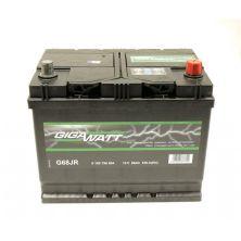 Аккумулятор автомобильный GIGAWATT 68А (0185756804)