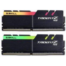 Модуль памяти для компьютера DDR4 16GB (2x8GB) 3600 MHz TridentZ RGB Black G.Skill (F4-3600C19D-16GTZRB)