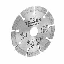 Диск Tolsen алмазный сегментный 125x22.2х10 мм (76703)