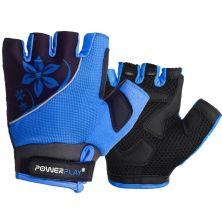 Велоперчатки PowerPlay Women 5281 Blue XS (5281B_XS_Blue)