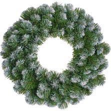 Украшение декоративное Black Box Trees Венок Creston Frosted шишки и ягоды 35 см (8718861152982)