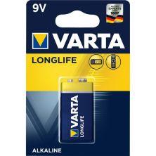 Батарейка Varta Longlife 9V 6LR61 (04122101411)
