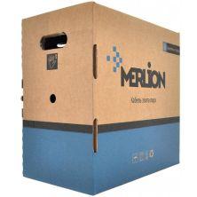 Кабель сетевой Merlion UTP 305м, cat 5e, CU, 4*2*0,50мм, ПВХ, outdoor (КПП-ВП (100) 4*2*0,50 / 17387)