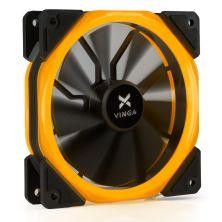 Кулер для корпуса Vinga LED fan-02 orange