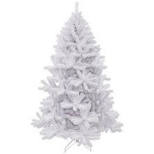 Искусственная сосна Triumph Tree Icelandic iridescent белая с блеском, 2,15 м (8711473061635)