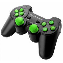 Геймпад Esperanza Trooper PS3/PC Green (EG107G)