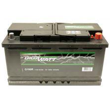 Аккумулятор автомобильный GIGAWATT 100А (0185760002)