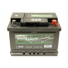 Аккумулятор автомобильный GIGAWATT 60А (0185756009)