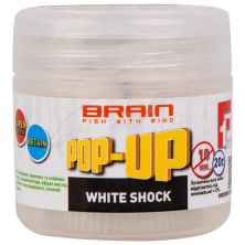Бойл Brain fishing Pop-Up F1 White Shock (белый шоколад) 12mm 15g (1858.02.53)