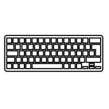 Клавиатура ноутбука Lenovo IdeaPad V490/V490U/V490UA черная с серебристой рамкой UA (AELV5U00010/AELV5U01110/V135820AS1/V135820AS2/25205736)