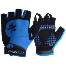 Велоперчатки PowerPlay Women 5284 Blue XS (5284D_XS_Blue)