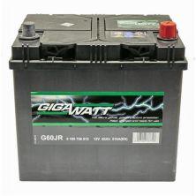 Аккумулятор автомобильный GIGAWATT 60А (0185756012)