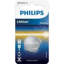 Батарейка PHILIPS CR2450 Lithium * 1 (CR2450/10B)