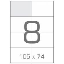 Этикетка самоклеящаяся TAMA 105х74 (8 на листі) с/кл (100листів) (17791)