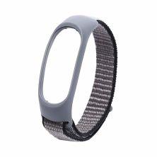 Ремешок для фитнес браслета XoKo Nylon для Xiaomi Mi Smart Band 5 Grey (XK-NLN5-GR)