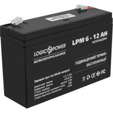 Батарея к ИБП LogicPower LPM 6В 12 Ач (4159)