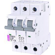 Автоматический выключатель ETI Выключатель автоматический ETIMAT 6 3p C 32А (6 kA) (2145519)
