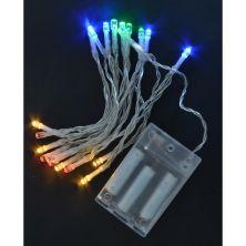 Гирлянда YES! Fun 20 LED лампочек, многоцветная, 2,10 м (801128)