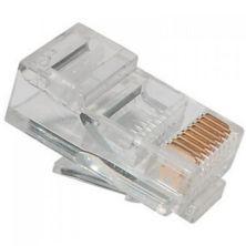 Коннектор Ritar RJ45 cat.5e UTP 8P8C PREMIUM (позолоченные контакты) 100 шт (13193)
