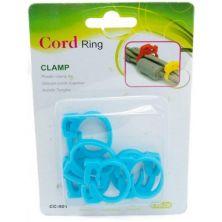 Держатель для кабеля EXTRADIGITAL Cable Clips CC-901 (Blue) * 6 (KBC1706)