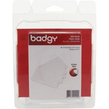 Карточка пластиковая чистая BADGY 0.76 мм Cards Thick, 100шт (CBGC0030W)