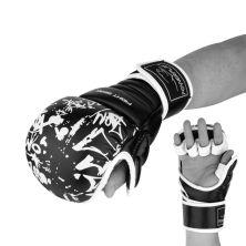 Перчатки для карате PowerPlay 3092KRT Black/White L (PP_3092krt_L_bl/white)