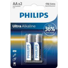 Батарейка PHILIPS LR06 Ultra Alkaline * 2 (LR6E2B/10)