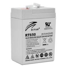 Батарея к ИБП Ritar AGM RT650, 6V-5Ah (RT650)