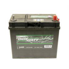 Аккумулятор автомобильный GIGAWATT 45А (0185754555)