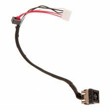 Разъем питания ноутбука с кабелем для Dell PJ590 (7.4mm x 5.0mm + center pin), 5-pin универсальный (A49073)
