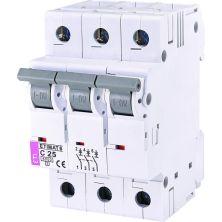Автоматический выключатель ETI ETIMAT 6 3p C 25А (6 kA)