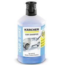 Средство для моек высокого давления Karcher автошампунь 3-в-1, Plug-n-Clean, 1л (6.295-750.0)
