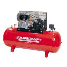 Компрессор Airkraft высокого давления 15bar, 300л, 858л/мин, 380В, 5,5кВт (AK300-15BAR-858-380)
