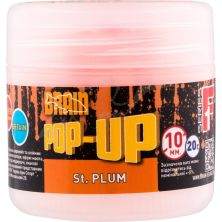 Бойл Brain fishing Pop-Up F1 St. Plum (слива) 10 mm 20 gr (1858.02.11)