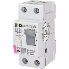 Автоматический выключатель ETI (УЗО) EFI-2 16/0,3 тип AC (10kA)